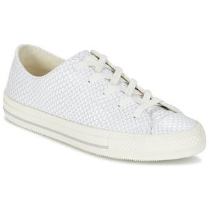 White Upper Leather Converse